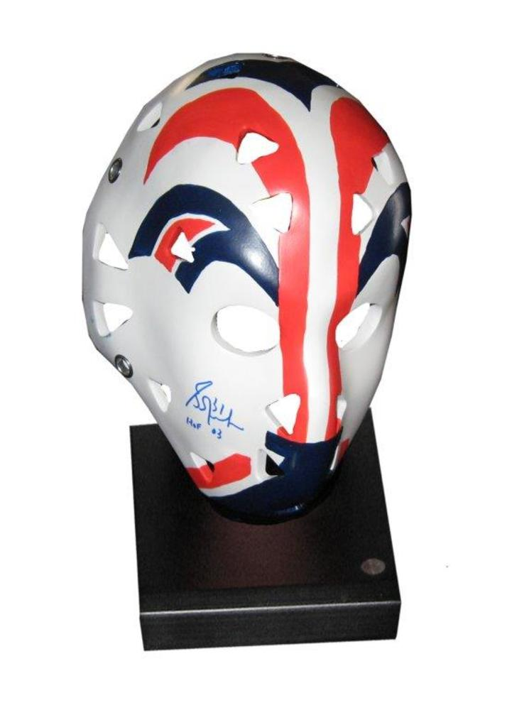Grant Fuhr - Signed Replica Rookie Mask Edmonton Oilers