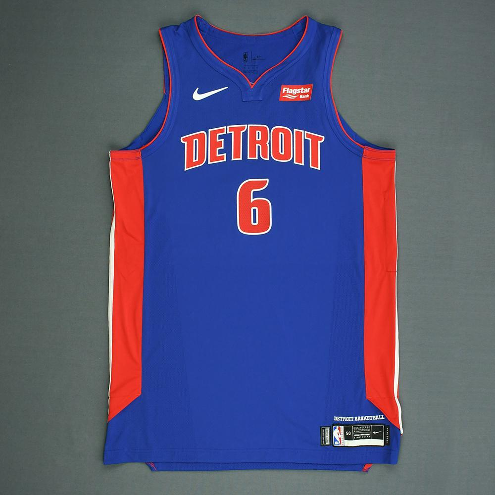 Bruce Brown - Detroit Pistons - 2018 NBA Draft - Autographed Jersey