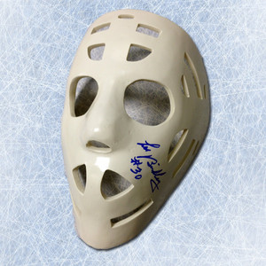 Les Binkley Pittsburgh Penguins Autographed Full Size Goalie Mask