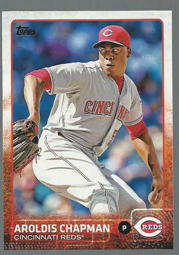 Photo of 2015 Topps #268 Aroldis Chapman