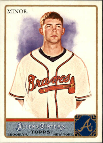 Photo of 2011 Topps Allen and Ginter #253 Mike Minor