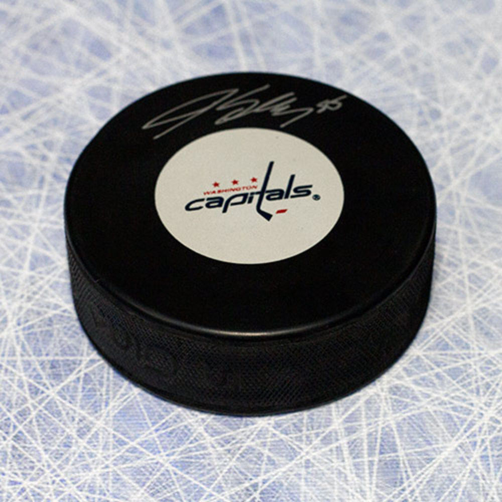 Jeff Schultz Washington Capitals Autographed Hockey Puck
