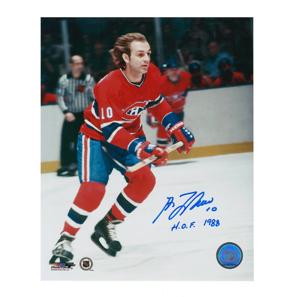 GUY LAFLEUR Signed Montreal Canadiens 8 X 10 Photo - 70156