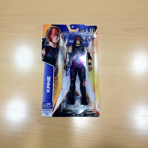 SIGNED Kane Superstar #01 Action Figure