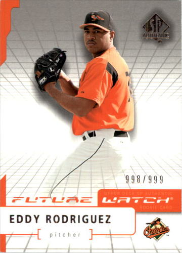 Photo of 2004 SP Authentic #100 Eddy Rodriguez FW RC