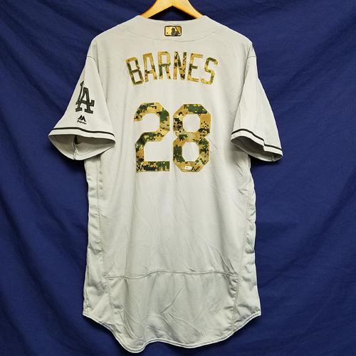 Photo of Austin Barnes 2016 Team-Issued Road Memorial Day Jersey