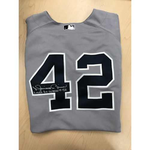 Photo of LADF Blue Diamond Gala Auction: Mariano Rivera, Number 42, Game-Used New York Yankees Jersey