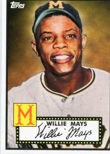 Photo of 2012 Topps National Convention VIP #410 Willie Mays