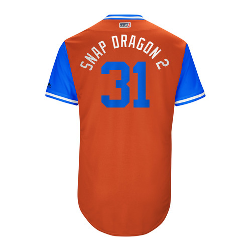 "Photo of Collin ""Snap Dragon 2"" McHugh Houston Astros Game-Used Players Weekend Jersey"