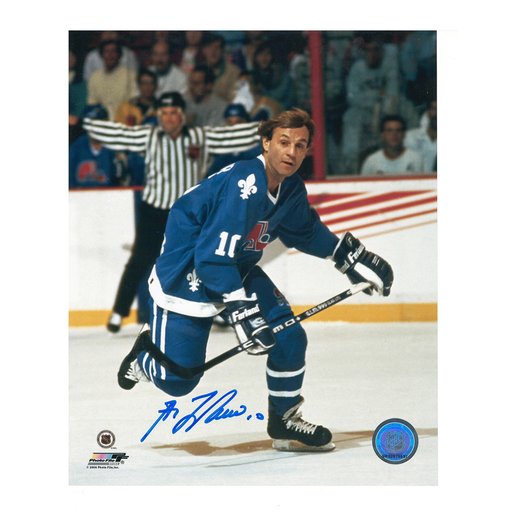 GUY LAFLEUR Signed Quebec Nordiques 8 X 10 Photo - 70224