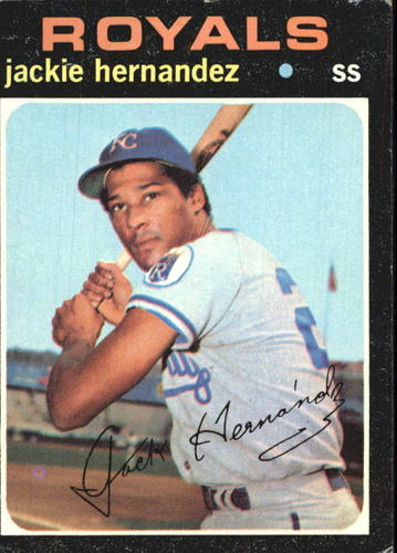 Photo of 1971 Topps #144 Jackie Hernandez