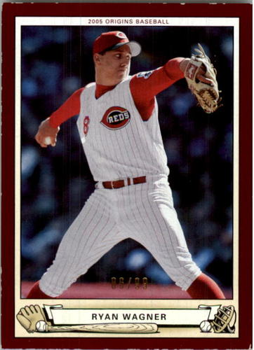 Photo of 2005 Origins Red #190 Ryan Wagner YS