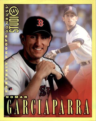 Photo of 1998 Studio Portraits 8 x 10 Gold Proofs #13 Nomar Garciaparra