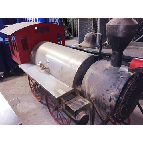 Photo of One-of-a-kind Astros Train BBQ Pit - PICK-UP ONLY