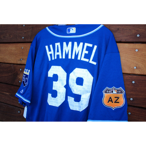 Photo of Jason Hammel 2017 Spring Training Jersey (Size 48)