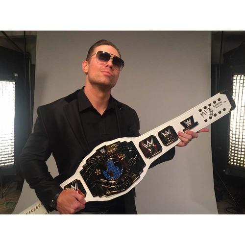 Photo of The Miz SIGNED WWE Intercontinental Championship Replica Title