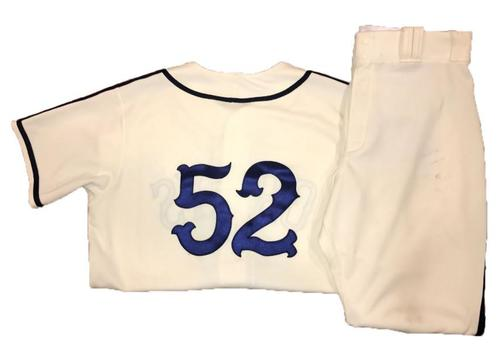 Photo of Jhan Marinez Game-Used Homestead Greys Jersey and Pants