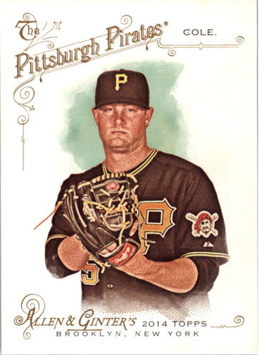 Photo of 2014 Topps Allen and Ginter #184 Gerrit Cole