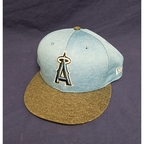 Photo of Mike Trout Team-Issued Fathers Day Cap