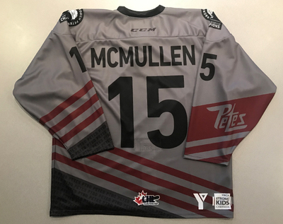 Keegan McMullen (#15) - '93 Petes Alumni Jersey