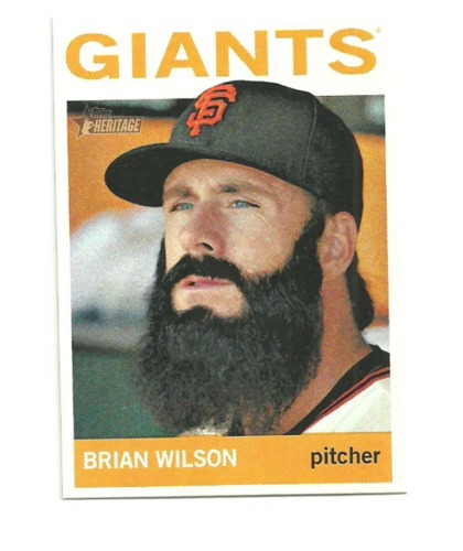 Photo of 2013 Topps Heritage #64 Brian Wilson