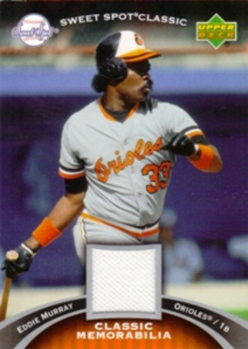 Photo of 2007 Sweet Spot Classic Classic Memorabilia #ME Eddie Murray Pants