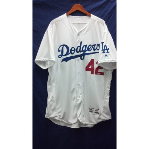 Photo of Pedro Baez Game-Used Jersey - 4/15/16