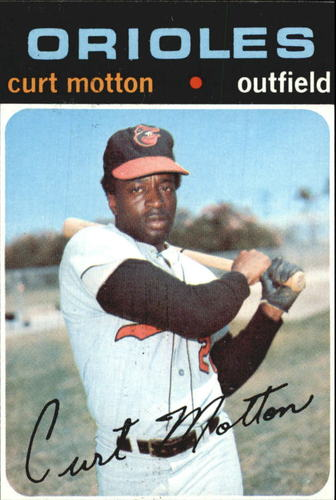 Photo of 1971 Topps #684 Curt Motton