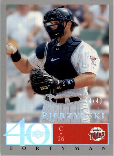 Photo of 2003 Upper Deck 40-Man Rainbow #288 A.J. Pierzynski