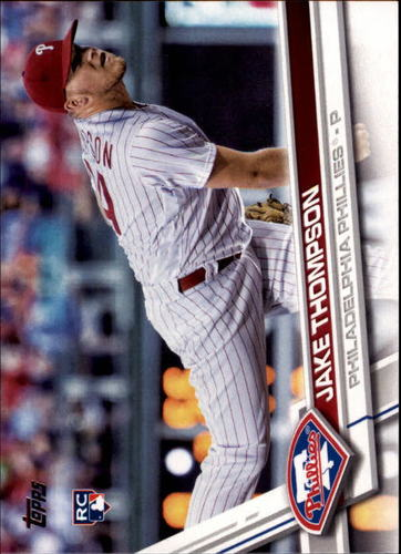 Photo of 2017 Topps #344 Jake Thompson RC
