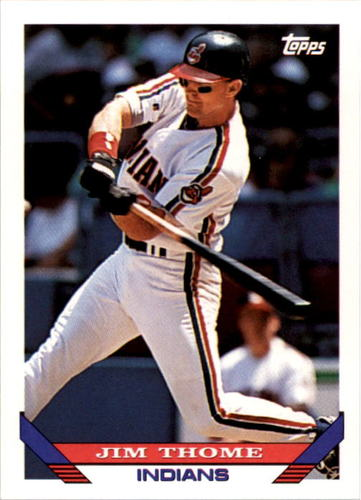 Photo of 1993 Topps #603 Jim Thome