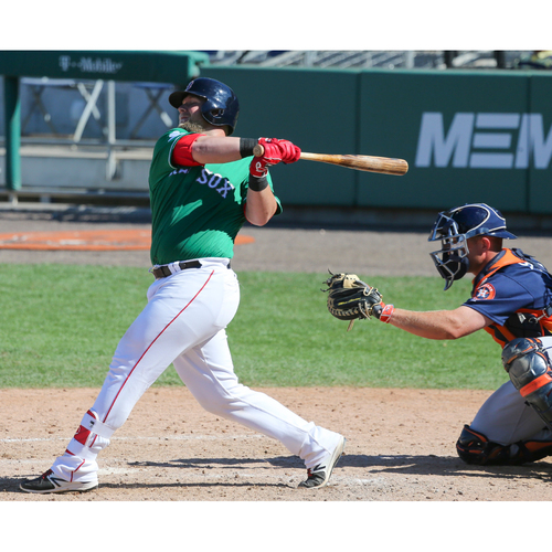 Photo of Red Sox Foundation St. Patrick's Day Jersey Auction - Jake DePew Game-Used & Autographed Jersey