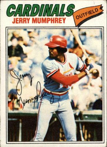 Photo of 1977 Topps #136 Jerry Mumphrey RC