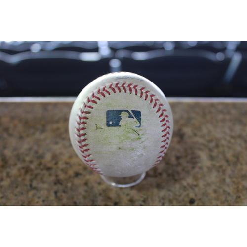 Photo of Game-Used Baseball: Jason Kipnis 198th Career Double  (CLE at KC - 8/19/17)