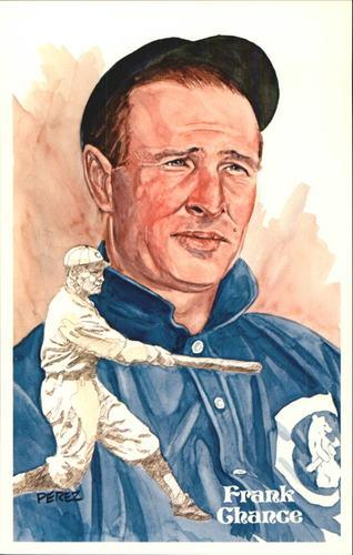 Photo of 1980-02 Perez-Steele Hall of Fame Postcards #40 Frank Chance -- Set #08689