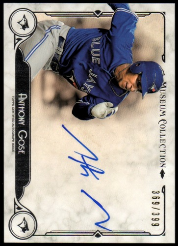 Photo of 2014 Topps Museum Collection Autographs #AAAGOS Anthony Gose/399
