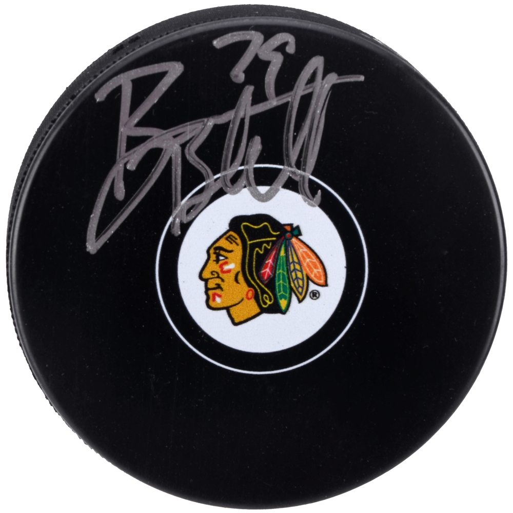 Bryan Bickell Chicago Blackhawks Autographed Hockey Puck