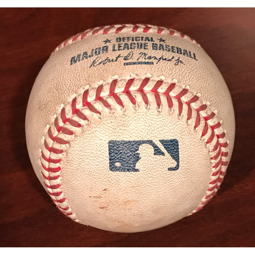 Photo of Game-Used Baseball - Welington Castillo RBI Single vs. Matt Moore