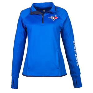 Women's In The Stands 1/4 Zip Sweater by G-III