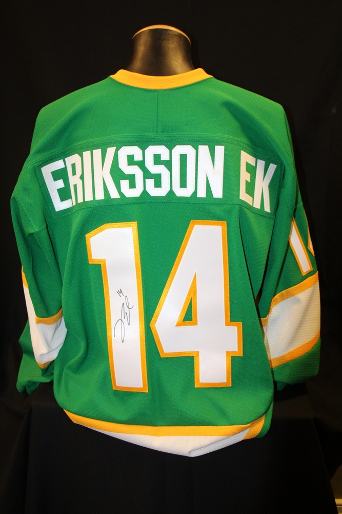 MN Wild #14 Joel Eriksson Ek Signed, Player Worn Northstars Jersey