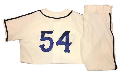 Photo of Ray Searage Game-Used Homestead Greys Jersey and Pants