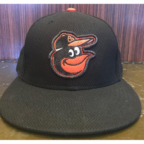 Darren O'Day - Batting Practice Hat: Team-Issued