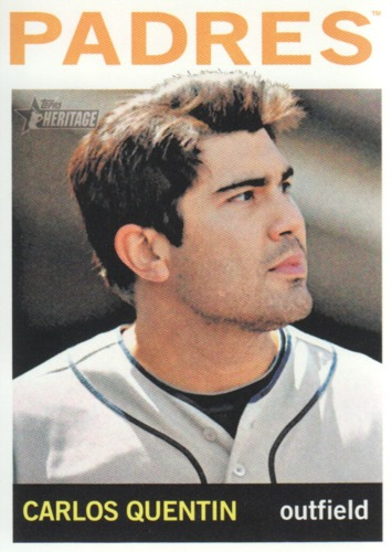 Photo of 2013 Topps Heritage #65 Carlos Quentin