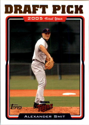 Photo of 2005 Topps #679 Alexander Smit FY RC