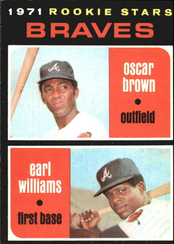 Photo of 1971 Topps #52 Rookie Stars/Oscar Brown RC/Earl Williams RC