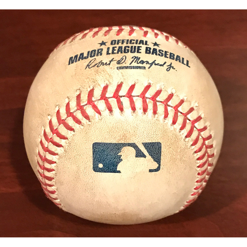 Photo of Game-Used Baseball - Matt Kemp Foul Ball vs. Silvino Bracho