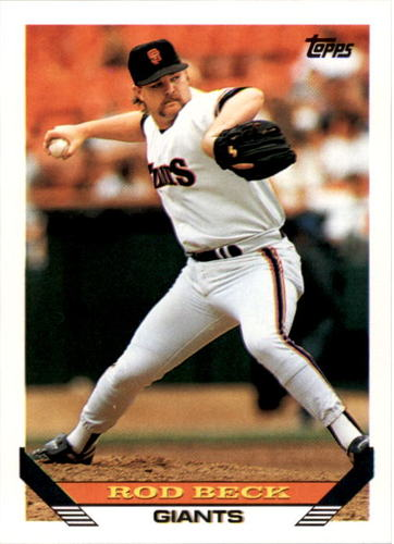 Photo of 1993 Topps #604 Rod Beck