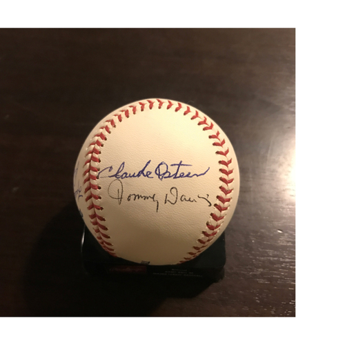 Photo of LADF Blue Diamond Gala Auction: LA Dodgers 60s Legends Autographed Baseball