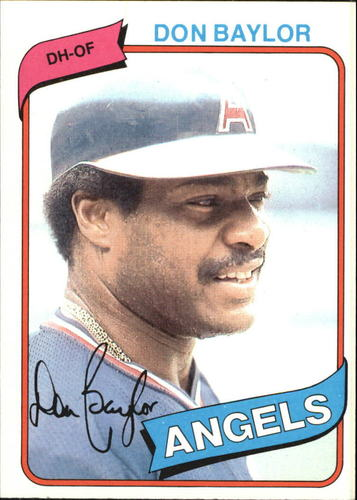 Photo of 1980 Topps #285 Don Baylor