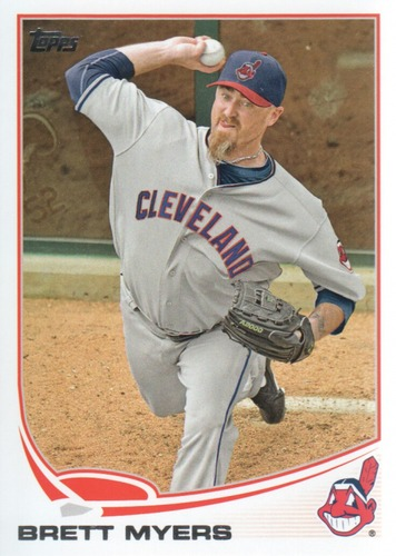 Photo of 2013 Topps #497 Brett Myers